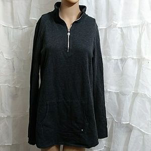 New VICTORIA'S SECRET Quarter Zip Pull Over T20